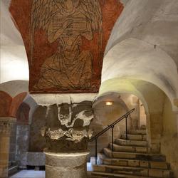 Kathedraal van Bayeux - de crypte