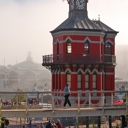 Clocktower, waterfront Kaapstad
