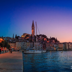 Rovinj @ night
