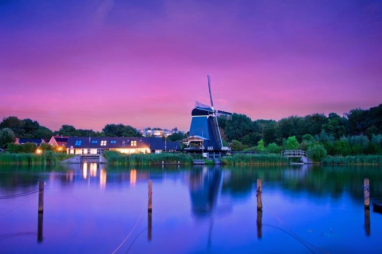 """De Eenhoorn te Haarlem True Colors - I continue my """"windmolen"""" hunting project.  De Eenhoorn te Haarlem has been build in1776. This is a sta"""
