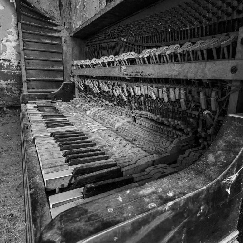 De schoonheid van een piano -