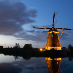 kinderdijk illuminationweek