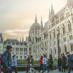 Winter in Boedapest