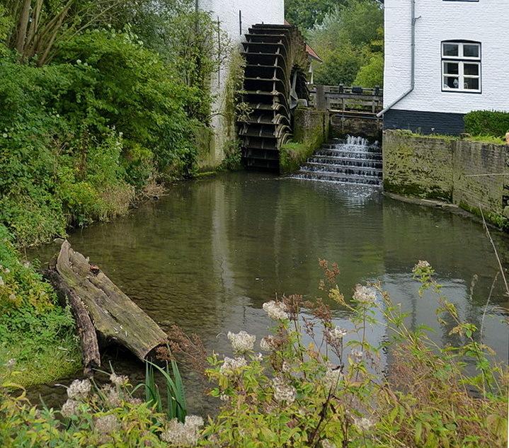 Geuldal 4. - Wandeling door het Geuldal met zicht op het waterrad van Mechelen.<br /> <br /> 15 oktober 2020.<br /> Groetjes, Bob.