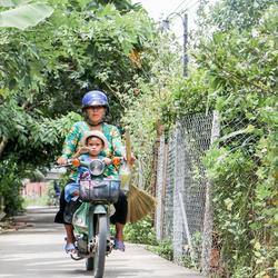 Scooterlife in Vietnam