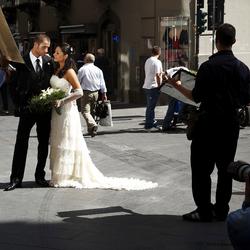 Fotoshoot Bruidspaar in Naples