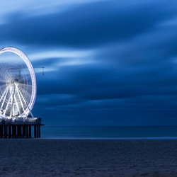 Scheveningen at night