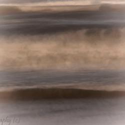 De zee in abstract