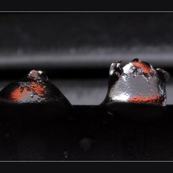 Gekleurde druppels