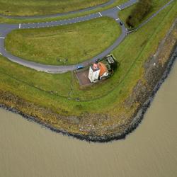 IJsselmeer kust bij Enkhuizen - Vuurtoren De Ven