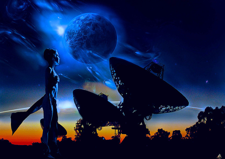 Searching for aliens -