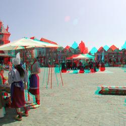 kaasmarkt Hoorn 3D GoPro