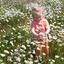 In de bloemetjes.