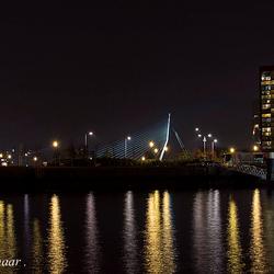 Rotterdam bij Avond