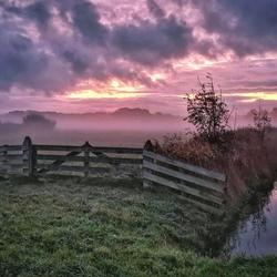 Nieuw Den Helder early in the morning