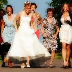 Rennen naar de bruidegom