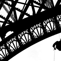 Eiffel Tower Abseiling