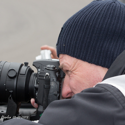 De sportfotograaf