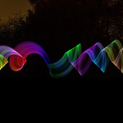 Lightpainting practice