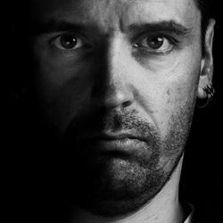 Zelfportret zwart-wit