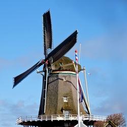 De molen in Leidschendam.