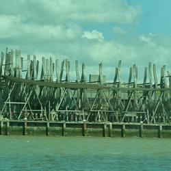 Replica van het voormalig VOC-linieschip De Delft.