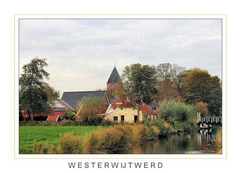 Westerwijtwerd - Zicht op het dorp Westerijtwerd