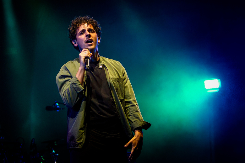 Nielson  - Nielson tijdens een optreden bij Opperdepop Festival in Lansingerland
