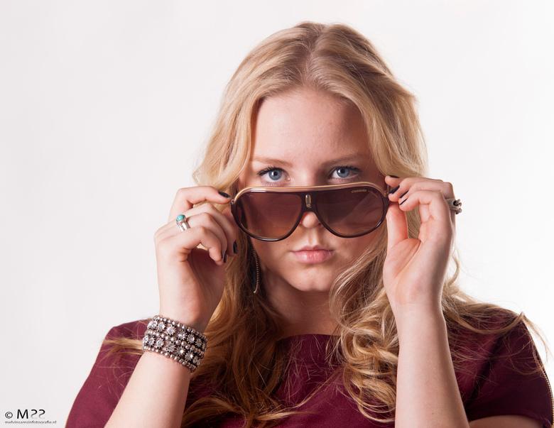 Model: Britt - Fotovakschool opdracht