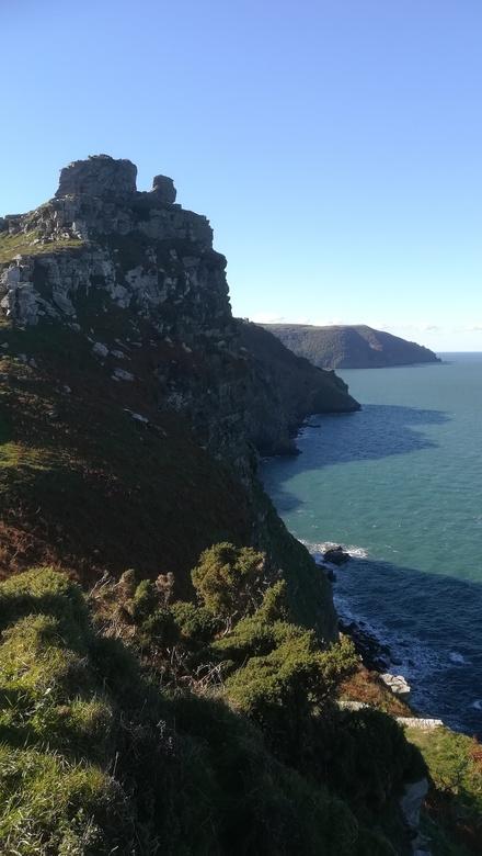 Valley of the rocks north devon  -