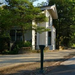 Huisje in het Vondelpark........