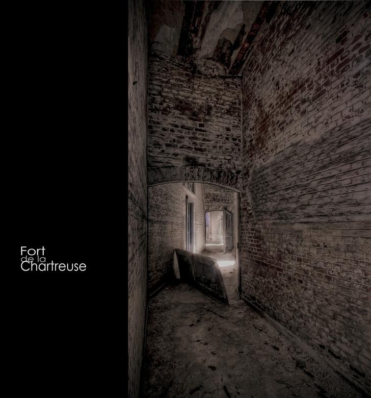 """LaChartreuse 16 - Welbekend verlaten Fort """"ergens"""" in Belgie,.."""