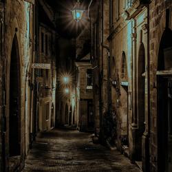 Ergens een straatje in de Dordogne