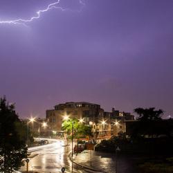 Onweer in Hoek van Holland