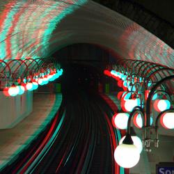 metrostation Cité Paris 3D