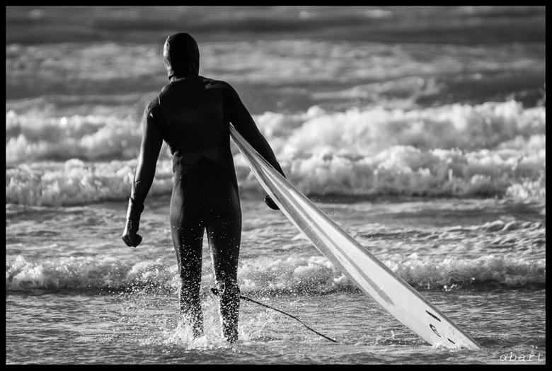 Surf's up - Wintersurfen aan de nederlandse kust voor bikkels zonder watervrees