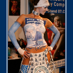 Delfts Blauw Body Painted Model - 3