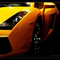 Racing monster.