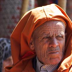 de souks van Marrakech
