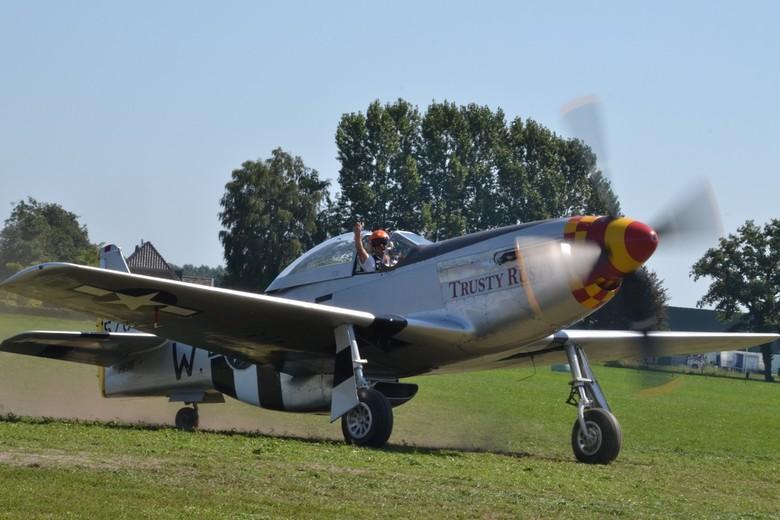 Wings of Freedom, P51 Mustang - P51 Mustang, Trusty Rusty. Prachtige kist!