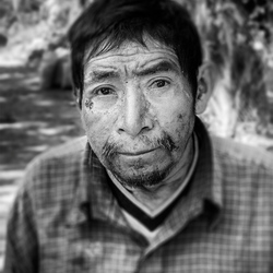 Man in Guatemala