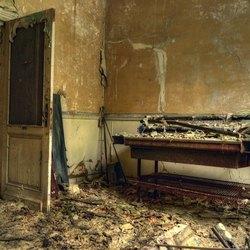 kamer in verval