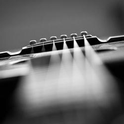 Mijn gitaar...