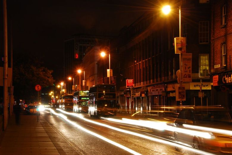 Traffic in Dublin 2009 -