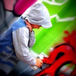 Junior graffiti