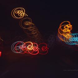 A16 in de nachtlicht