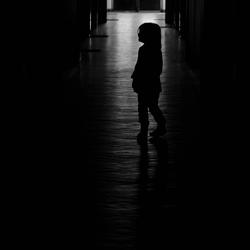 Eenzaam meisje