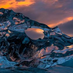 Icefish sunrise