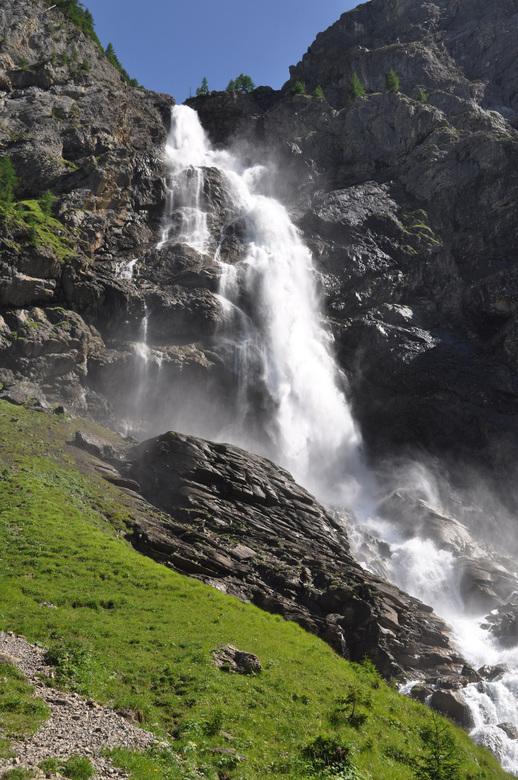 waterval Engstligenalp, adelboden, Zwitserland - De vorige upload een foto van Berlijn, deze ook van een vakantie, maar dan in Zwitserland. Een enorme