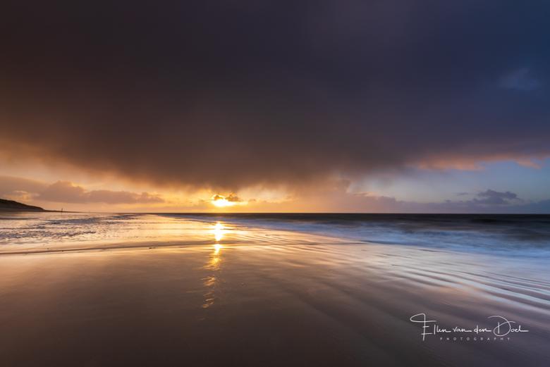 The Other Side - Een regenbui passeerde vlak voor zonsondergang. Wat een geweldige combinatie!